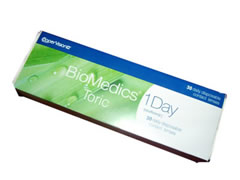 Biomedics 1 Day Toric 30 pack