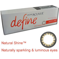 1 Day Acuvue DEFINE NATURAL SHINE STYLE 30 pack