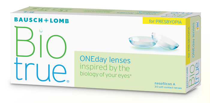 BioTrue one day for Presbyopia 30 pack