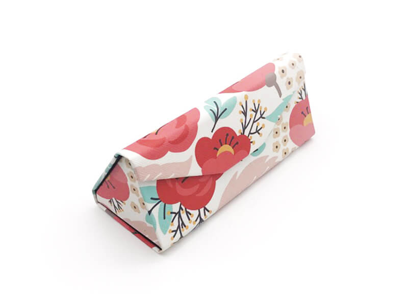 Springtime Print Glasses Case
