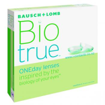 BioTrue one day lenses 90 pack