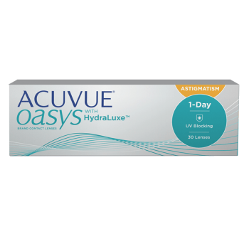1-Day Acuvue Oasys for Astigmatism 30 pack