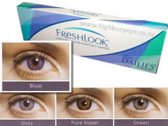 Freshlook 1 day Colors - BLUE