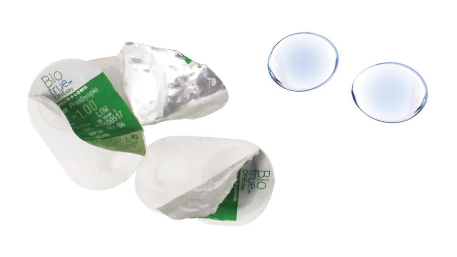 recycle contact lenses